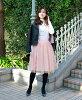"""Kobe, hilly section reversible Tulle skirt """"tier"""" long length"""