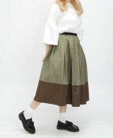 神戸 山の手 だんだん エシカル スカート ミモレ丈 カラーB 膝下丈 タフタスカート TRECODE トレコード 公式