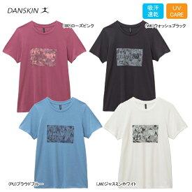 【あす楽対応】【新作10%OFF】DANSKIN ダンスキン フィットネスウェア 女性用 レディース Tシャツ 吸汗速乾 UVケア DB79109【19SS】