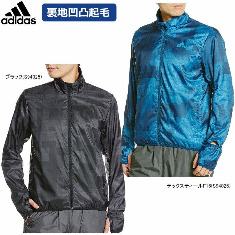 【在庫一掃】adidas(アディダス)男性用(メンズ)叶衣グラフィックジャケット 裏地凹凸起毛メッシュ 前ファスナー BPN49【16】◇