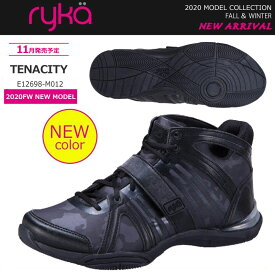2020年秋冬モデル ryka ライカ ダンス エクササイズ ズンバ フィットネス シューズ TENACITY テナシティー E12698-M012【20FW】