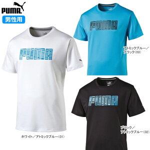 PUMA(プーマ)男性用(メンズ)Tシャツ半袖吸汗速乾・UVカットソフトタッチドライニット824895