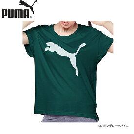【あす楽対応】【40%OFF】PUMA プーマ レディース 女性用 スポーツ ランニング 半袖 Active ロゴ Tシャツ 843991【19】