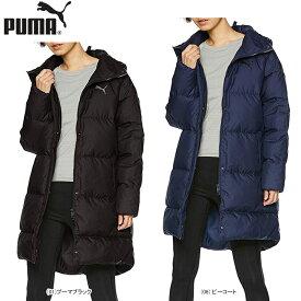 【SALE】PUMA プーマ レディース 女性 トレーニングウェア ロング ダウンコート 中綿 撥水 防寒 853636【19】