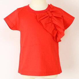 ジェモー Gemeaux フリルリボン半袖Tシャツ 100-140