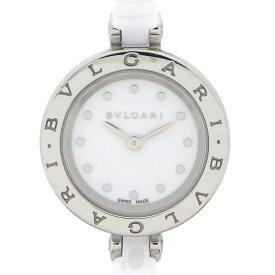 ブルガリ BVLGARI 腕時計 バングル B-zero1 ビーゼロワン BZ23SC ホワイト文字盤 SS ホワイトセラミック 白 クオーツアナログ 【中古】