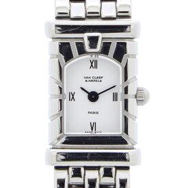 ヴァンクリーフ&アーペル Van Cleef & Arpels 腕時計 ファサード 531963T5 ホワイト 白 文字盤 SS クオーツアナログ 【中古】