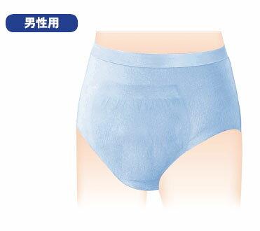 【ケース販売】男性用失禁パンツ【日本製紙クレシア】ポイズ 肌着ごこちパンツ 男性用2回分 Mサイズ 8枚(1袋)×8袋