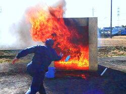 投てき用消火用具・消火剤「ファイテック」