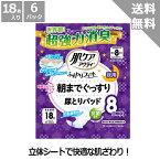 【日本製紙クレシア】肌ケアアクティふんわりフィット朝までぐっすり尿とりパッド