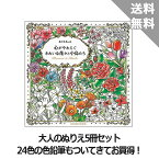 【コスミック出版】幸せいっぱいのぬりえセット(5冊+色鉛筆)