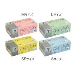 【竹虎】タケトラ(R)ニトリル手袋(SSサイズ・Sサイズ・Mサイズ・Lサイズ)