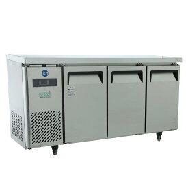 JCM ヨコ型 冷蔵庫 JCMR-1545T 業務用 冷蔵 コールドテーブル 台下 省エネ 【代引不可】