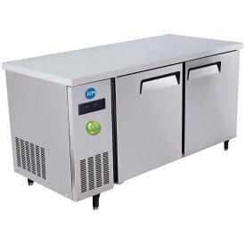 JCM ヨコ型 冷蔵庫 JCMR-1560T-I 業務用 冷蔵 コールドテーブル 台下 省エネ 【代引不可】