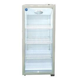 JCM タテ型冷蔵ショーケース JCMS-300 300L 業務用 タテ型 冷蔵 保冷庫 ショーケース LED 【代引不可】