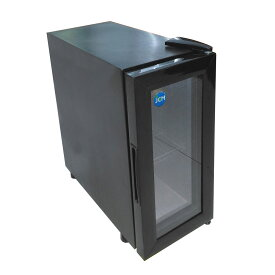 JCM 卓上型冷蔵ショーケース JCMS-16 16L 業務用 冷蔵 保冷庫 ショーケース 卓上型 【代引不可】