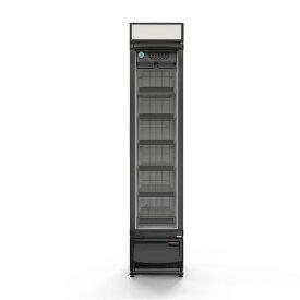 RIT JCM タテ型冷凍ショーケース 133L RITCS-133H ジェーシーエム 業務用 ノンフロン 冷凍庫 保冷庫 ブラック 黒 飲食店 バー オフィス おしゃれ かっこいい