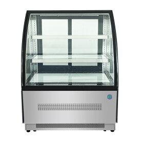 RIT 対面冷蔵ショーケース(ラウンド型) RITS-126T 冷蔵 冷蔵庫 保冷庫 ショーケース【代引不可】