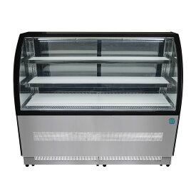RIT 対面冷蔵ショーケース(ラウンド型) RITS-219T 冷蔵 冷蔵庫 保冷庫 ショーケース【代引不可】