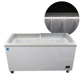 JCM 冷凍ショーケース 330L JCMCS-330L 業務用 冷凍 冷凍庫 保冷庫 ショーケース スライド LED照明付【代引不可】