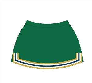 チアリーディング スカート Aライン <1着の注文可能>税込・送料無料