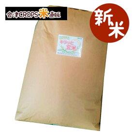 【新米】 天のつぶ キラッと玄米 30kg 福島県 令和元年産 調製済玄米 送料無料 通常発送