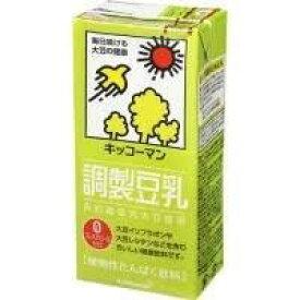 【1ケース】キッコーマン 調製豆乳 (1000ml ×6本)【同梱不可】【送料無料】