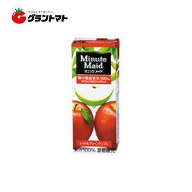【1ケース】ミニッツメイド レッド&グリーンアップル100% 紙パック(200ml×24本)明治 Minute Maid【同梱不可】【送料無料】