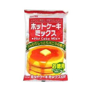 【1ケース】昭和 ホットケーキミックス (600g(200g*3袋)×20個入り)【同梱不可】【送料無料】