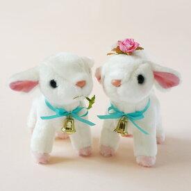 ウェルカムドール ヤギ 白山羊 やぎ ウェルカムゆきちゃん ウエディング 人形