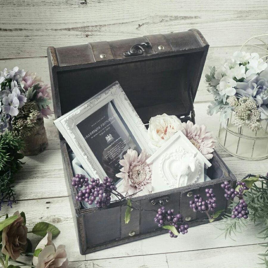 ウェルカムトランク ウエルカムトランク アンティークトランクボックス 結婚式 受付 装飾