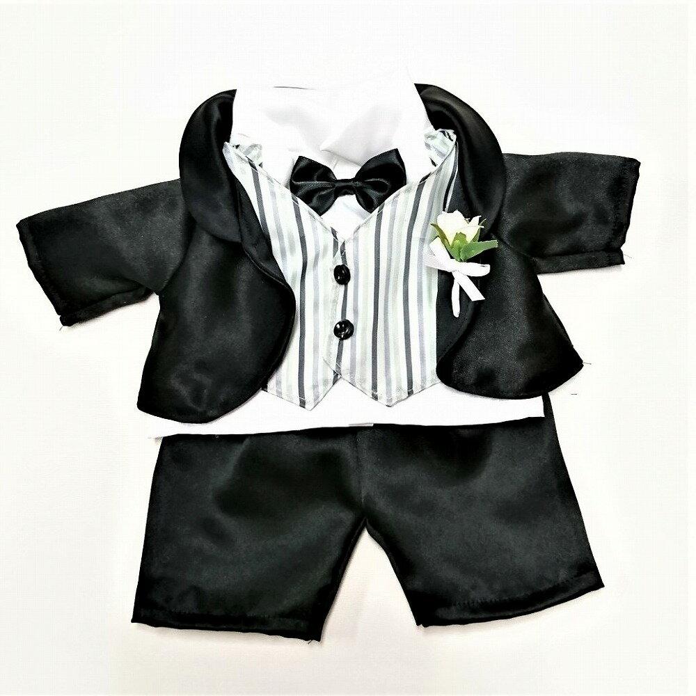 ぬいぐるみ用タキシードセット(ブラック)衣装 ダッフィー衣装