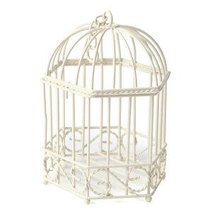 六角バードゲージ(小) アイアン製 バードゲージ 鳥かご 鳥籠