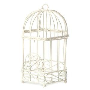 六角バードゲージ(大) アイアン製 バードゲージ 鳥かご 鳥籠