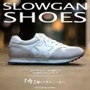 【slowGan/スローガン】ランニングシューズ/スニーカー メンズ ランニングシューズ レザー ビター系 BITTER ストリー…