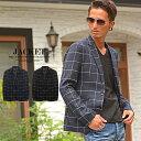 テーラードジャケット メンズ 春 チェック柄 スーツ ジャケット 黒 ブラック ネイビー 大人カジュアル 羽織り 通販 ホスト ちょいワル
