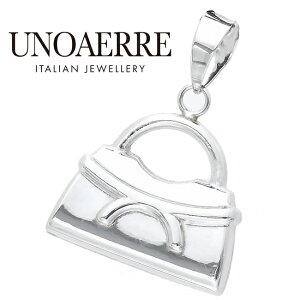 ウノアエレ ペンダント K18 バッグ バック ホワイトゴールド WG ペンダントトップ イタリア製 ゴールド k18 18k 18金 レディース メンズ 750 ジュエリー ギフト プレゼント ラッピング 鞄 UNOAERRE
