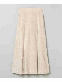 [Rakuten Fashion]ヌバックライクキリカエSK JEANASiS ジーナシス スカート フレアスカート グレー ブラウン ブラック【送料無料】