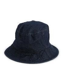 【SALE/43%OFF】デニムバケットハット JEANASiS ジーナシス 帽子/ヘア小物 ハット ネイビー ブルー【RBA_E】[Rakuten Fashion]