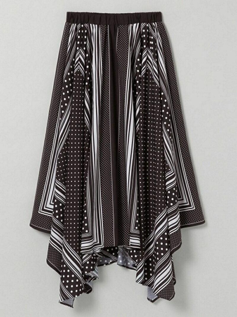 [Rakuten BRAND AVENUE]アソートスカーフSPアシメSK ジーナシス スカート【送料無料】