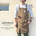 Johnbull【ジョンブル レディース メンズ】 デニム ワーク エプロン (JA012) アウトドア BBQ ギフト プレゼント 贈り物
