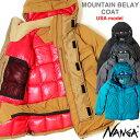 ナンガ ダウンジャケット USA モデル ナンガ マウンテンビレーコート 2019 2020 NANGA オリジナル 日本製 メンズ【MOU…