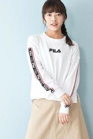 フィラ(FILA)ロゴテープショートスウェット FL1724