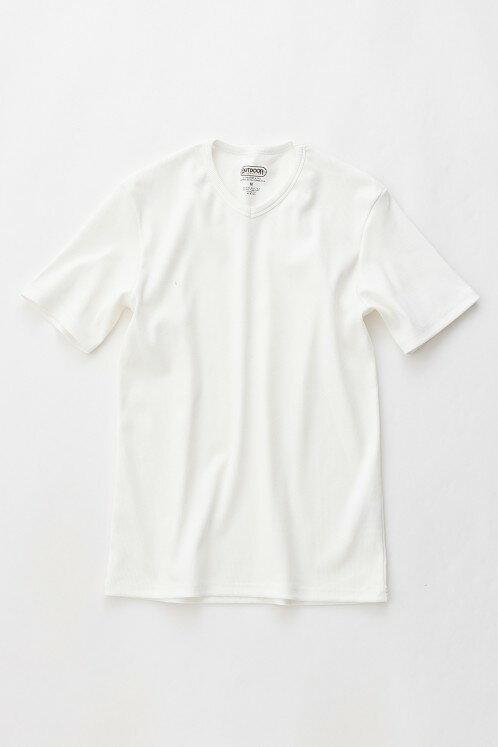 アウトドア プロダクツ【OUTDOOR PRODUCTS】リブVネック半袖Tシャツ