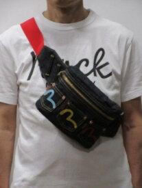 【1日限定 10%オフクーポン!】 エヴィスジーンズ 日本製 デニム ボディーバック 3カラーポケット カモメマーク刺繍入 限定生産 EBD0105C300100【送料無料】EVISU 通販 ポイント プレゼント【あす楽】人気 おすすめ