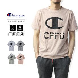 【送料無料】チャンピオン Tシャツ メンズ 半袖 ロゴ Champion Tシャツ CPFU 87C JERSEY Tシャツ 19SS C3-PS301