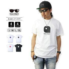 【送料無料】blue.black Tシャツ ブルーブラック Tシャツ LOGO PRINT S/S T-SHIRT メンズ 半袖 プリント バス釣り フィッシング BBT-004