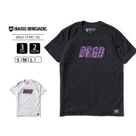 【送料無料】バスブリゲード Tシャツ BASS BRIGADE Tシャツ 半袖 メンズ BRGD STARS TEE バスフィッシング バス釣り ブラックバス アウトドア BSTRT1