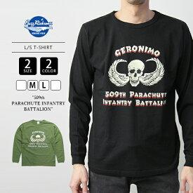 【送料無料】バズリクソンズ Tシャツ 長袖 BUZZ RICKSON'S ロンT L/S T-SHIRT 509th PARACHUTE INFANTRY BATTALION BR68444