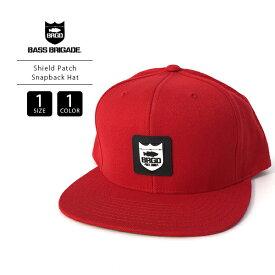 【送料無料】バスブリゲード キャップ BASS BRIGADE 帽子 Shield Patch Snapback Hat バスフィッシング バス釣り ブラックバス SHLDH101